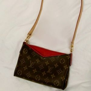 Louis Vuitton Crossbody Pallas Clutch